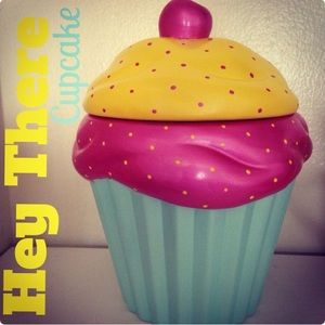 Cupcake Cookie Jar