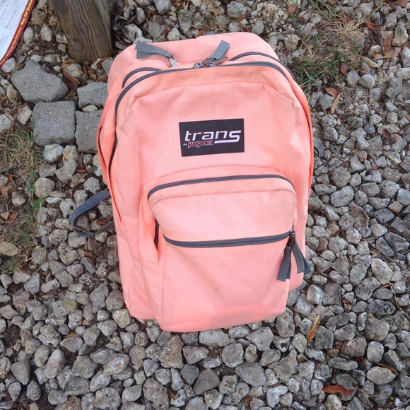 Bright Coral Trans By Jansport