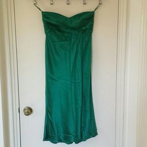 Banana Republic Dresses & Skirts - Strapless satin dress