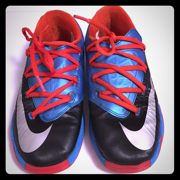 KD 6 basketball shoes ( Youth size ) acbe1f308293