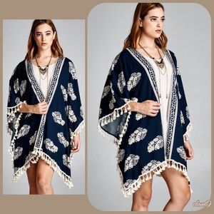 Cloud 9 Tops - 🍃Gorgeous ~ Stormy Nights Kimono