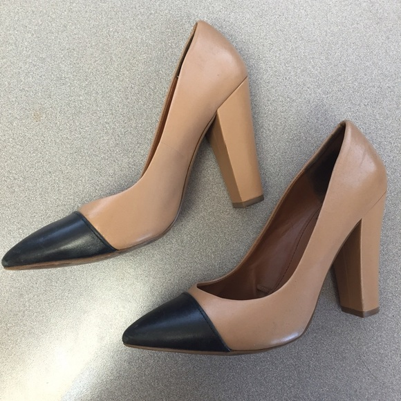 Zara Shoes - Two tone Block Heels