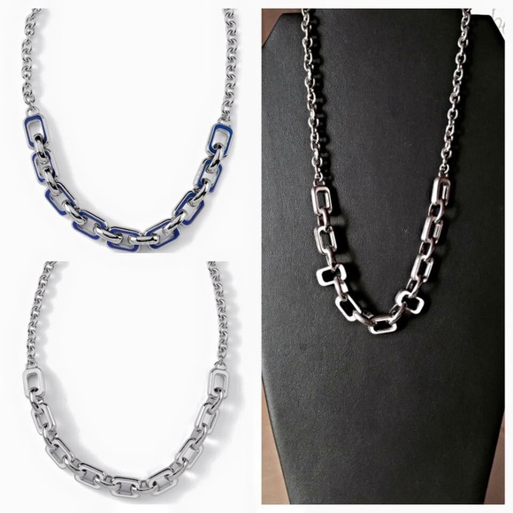 Lia sophia jewelry chain reaction necklace poshmark lia sophia chain reaction necklace aloadofball Choice Image