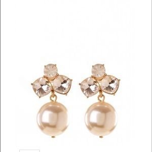 Spartina 449 Jewelry - Spartina Gem pearl drop earrings