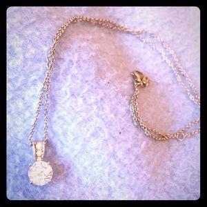 Jewelry - Crislu sterling platinum necklace