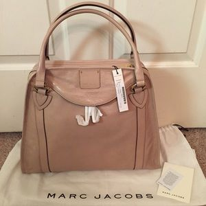 Marc Jacobs Wellington Leather Bowler Satchel