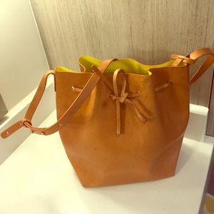 Mansur Gavriel Large Bucket Bag Cammello/Sun