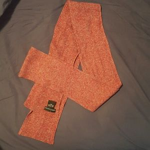 Red Victoria's Secret cotton scarf