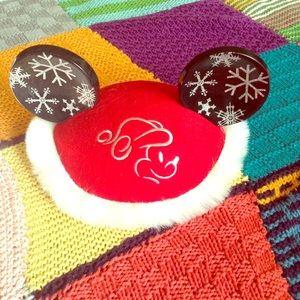 Disney Other - Vintage Mickey Mouse Disney Christmas Snowflakes