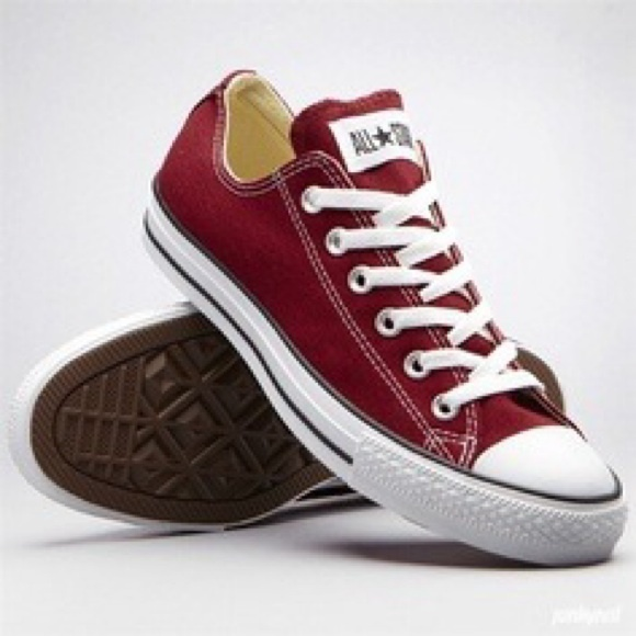 converse shoes low top. converse shoes - maroon/burgundy low top
