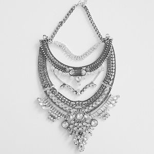 Jewelry - Dylanlex Dannijo boho crystal statement necklace