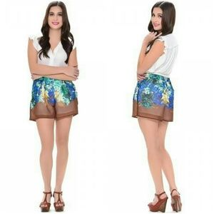 XOXO Pants - 3 for $45 Bag/ XOXO Floral Tropical Pleated Shorts