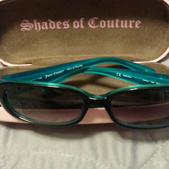 1629f7ae32 Juicy Couture Accessories - Juicy Couture Sunglasses SOPHIE-black teal