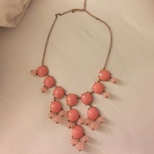 Pink bubble necklace!! Jcrew inspired