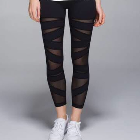 c69997e38 lululemon athletica Pants - Lululemon High Times Tech Mesh Leggings