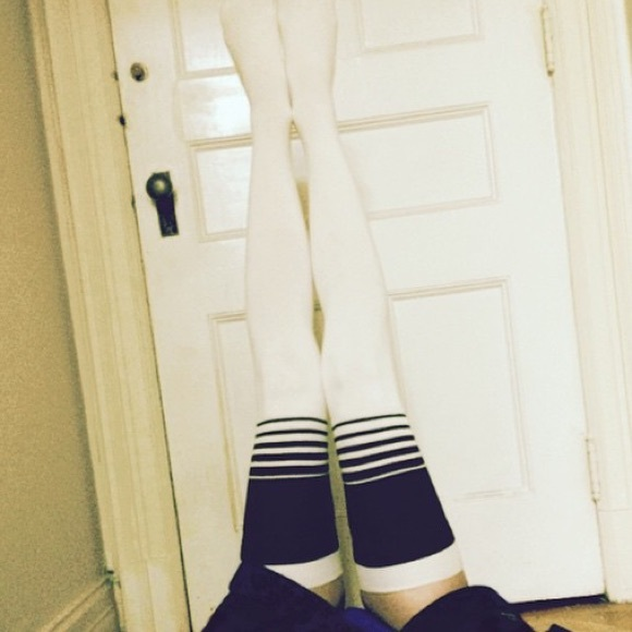 ddd7fdffbf5cd Free People Accessories - Free People Extra-Long Thigh High Socks