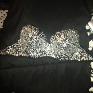 Other - SALE!! Bedazzled bra (rave)