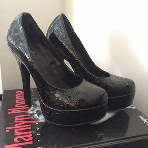 Forever 21 Shoes - Brand New Forever 21 Croc Platform Heels YSL 6
