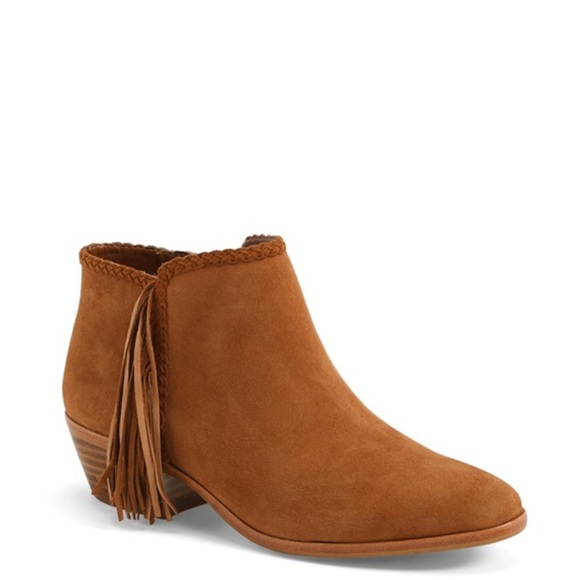 8350d444575b97 Sam Edelman Paige Fringe Ankle Boot Suede. M 56149f2501985edeb5027ebe