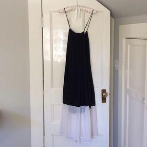 Dresses & Skirts - Black and White Maxi Block Dress