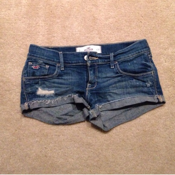 hollister jean shorts - photo #26