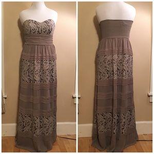 NWOT BCBG gorgeous long dress