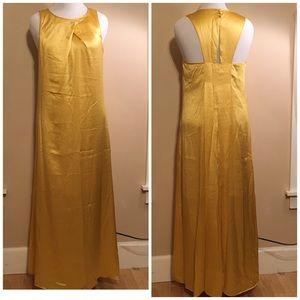 NWT Banana Republic long silk dress