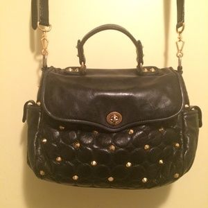 Rebecca Minkoff quilted handbag with studs