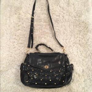 Rebecca Minkoff quilted crossbody bag with studs