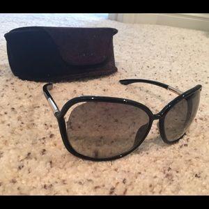 "Tom Ford ""Raquel"" black sunglasses"