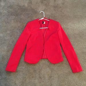 91b48dab88d8 H M Jackets   Coats - Red H M Divided Blazer