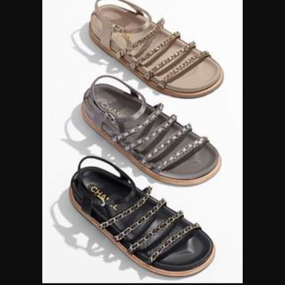 8e840fb0539 CHANEL Shoes - Chanel chain sandals