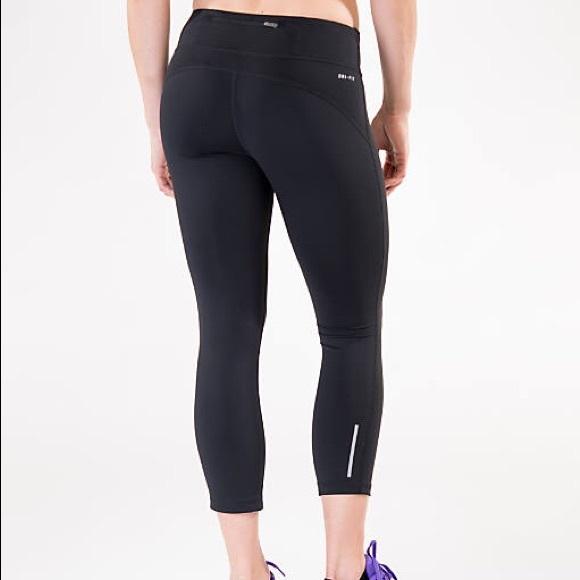 173888f931e84 Nike Pants   Nwt Epic Run Lux Crop Running Tights   Poshmark