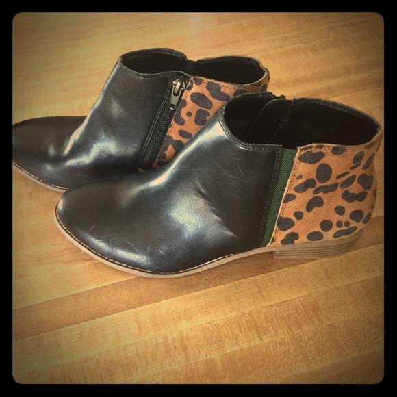 Dolce Vita Leopard Print Booties