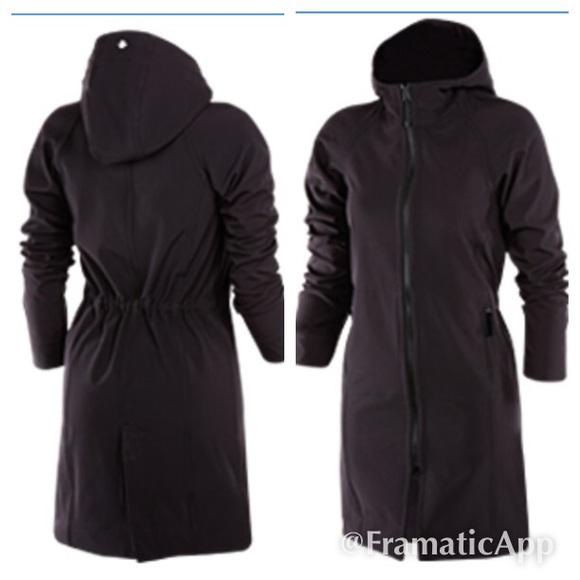 95707eae20 lululemon athletica Jackets & Blazers - Lululemon Apres Yoga Rain Jacket  Coat size 4 rare!