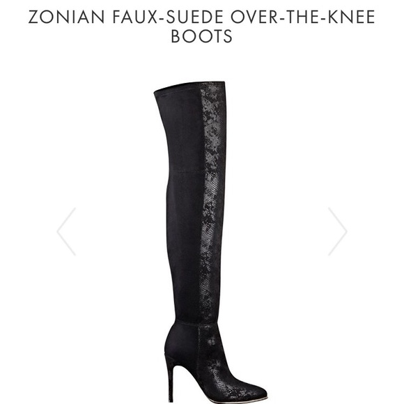 530fcdaacdd Guess Shoes - Guess Zonian Faux- Suede Over the Knee Boots
