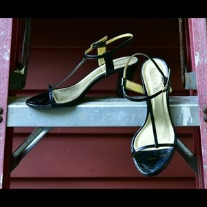 J. Crew Kendra T-Strap Heels