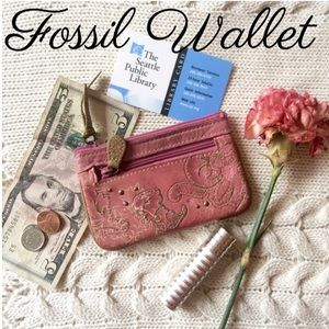Fossil Accessories - Fossil leather wallet