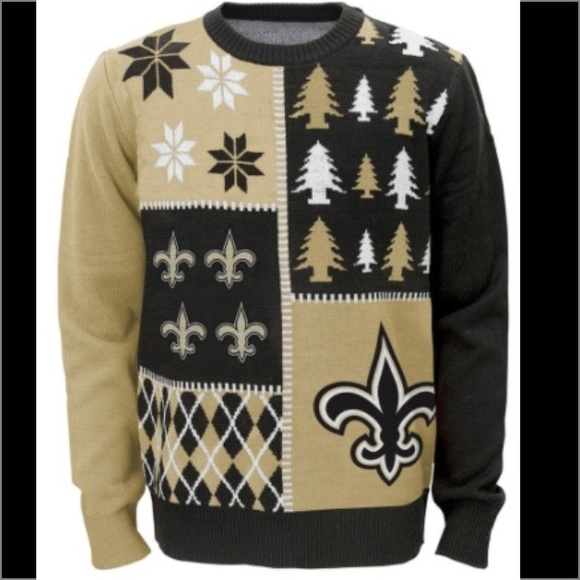 ed6ae0c1e59 NFL New Orleans Saints Ugly Christmas Sweater