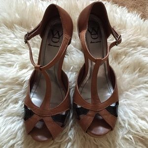 Diana Warner Shoes - Brown & Black Heels