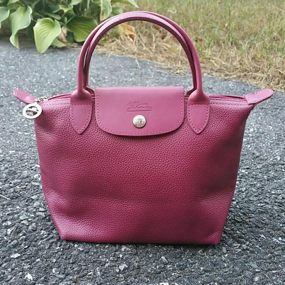 9dbb94dc461 Longchamp Handbags - SALE TODAY Gorgeous Veau Foulonne Longchamp Mini