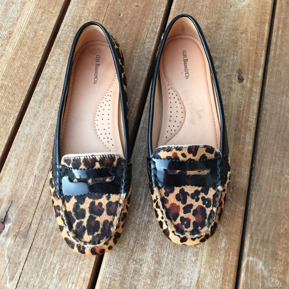 7013c29802f5 Bass Shoes - Bass Leopard Print Flats
