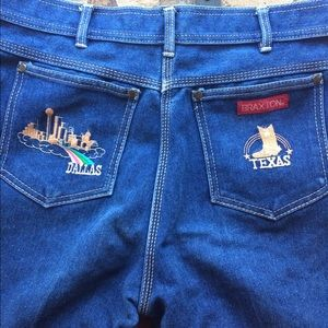 Braxton boot cut vintage jeans
