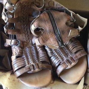77e84c3c217e8 Urban Outfitters Shoes - Urban Outfitters Bed Stu Gladiator Huarache Sandal
