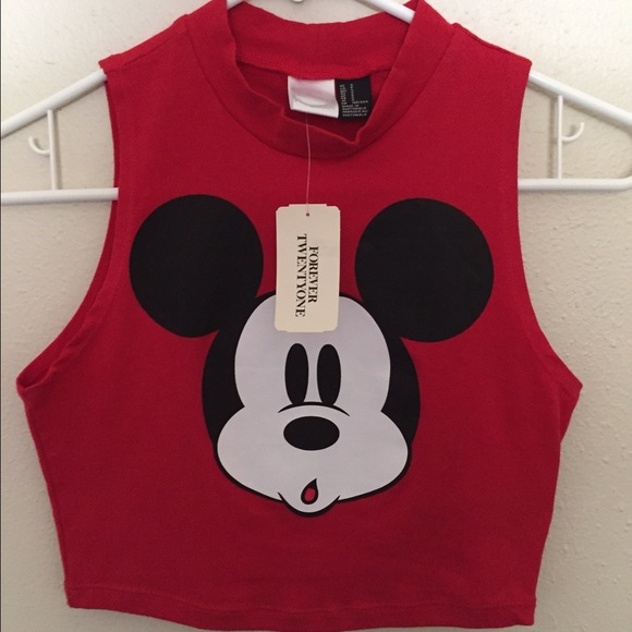 5333a3b641b77 Mickey Mouse Crop Top