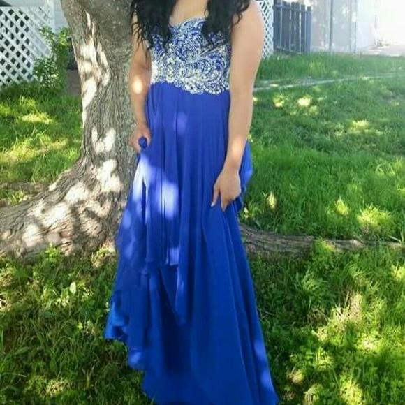Lpatricia Dresses Royal Blue Prom Dress Poshmark