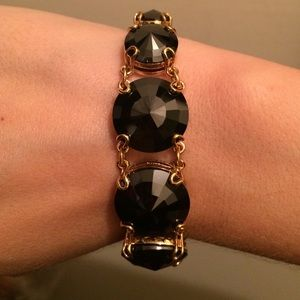 henri bendel Jewelry - Henri Bendi Faceted Crystal Bracelet
