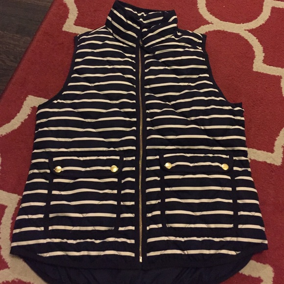 J. Crew Jackets & Coats - Jcrew striped vest
