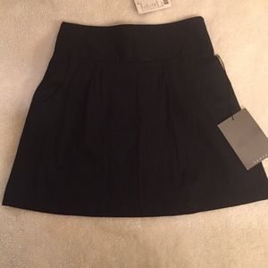 Black Mini Stretchy Skirt Size M
