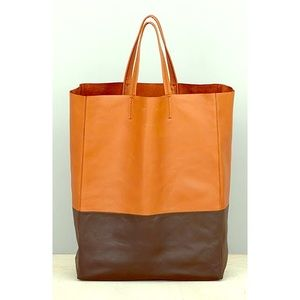 celine micro luggage tote replica - 58% off Celine Handbags - ??CELINE Vertical Cabas Bi-Color Tote ...